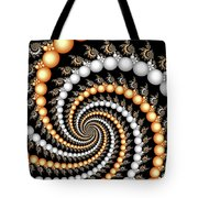 Elegant Swirls Tote Bag