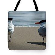 Elegant Tern Tote Bag