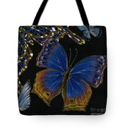 Elena Yakubovich - Butterfly 2x2 Lower Right Corner Tote Bag