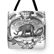 Elephant, 17th Cent Tote Bag