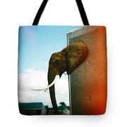 Elephant Box Tote Bag