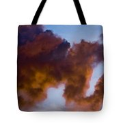 Elephant Cloud Tote Bag