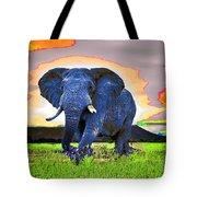Elephantidae Diurnal Tote Bag