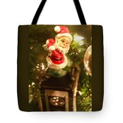 Elf On A Camera Tote Bag by Toni Hopper
