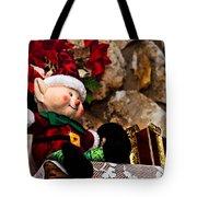 Elf On Shelf Tote Bag