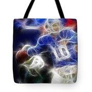 Eli Manning Ny Giants Tote Bag