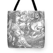 Elijahs Ascent To Heaven Tote Bag