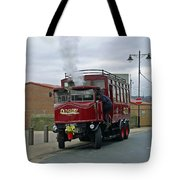Elizabeth - Steam Bus At Whitby Tote Bag