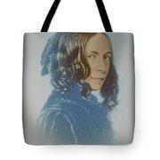 Elizabeth Barrett Browning, English Poet Tote Bag