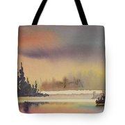 Elk Island Sundown 1 Tote Bag
