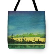 Elk Island Sundown 2 Tote Bag