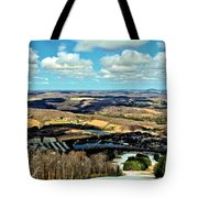Elk Mountain Ski Resort Tote Bag