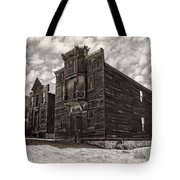 Elkhorn Ghost Town Public Halls 3 - Montana Tote Bag