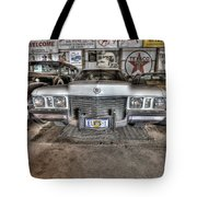 Elvis' Cadillac Tote Bag