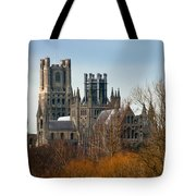 Ely Cathedral Scenic Tote Bag