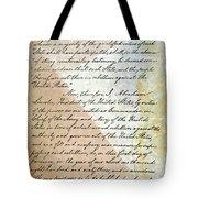 Emancipation Proc., P. 2 Tote Bag by Granger