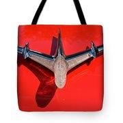 Emblem On Red 2 Tote Bag
