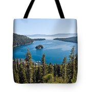 Emerald Bay Morning Tote Bag