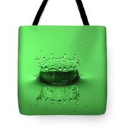 Emerald Crown Tote Bag