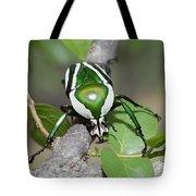 Emerald Fruit Chafer Beetle Tote Bag