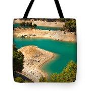 Emerald Lake I. El Chorro. Spain Tote Bag