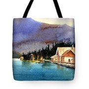 Emerald Lake Lodge B.c Tote Bag