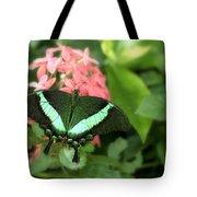 Emerald Swallowtail Tote Bag