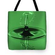 Emerald Umbrella Tote Bag