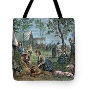 Emigrants: Arkansas, 1874 Tote Bag by Granger