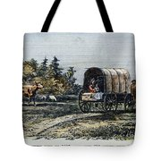 Emigrants To Ohio, 1805 Tote Bag