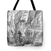 Emigrants To The West, 1865 Tote Bag