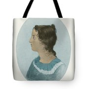 Emily Bronte, English Author Tote Bag
