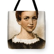 Emily Dickinson, American Poet Tote Bag by Photo Researchers