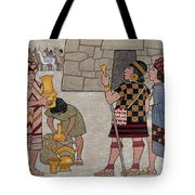 Emissaries Bring Tribute To Inca Tote Bag