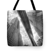 Empire State Reflection Tote Bag