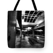Empty And Cold Tote Bag