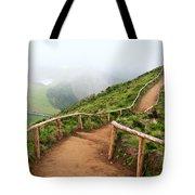 Empty Walking Trail Tote Bag