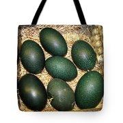 Emu Eggs Tote Bag