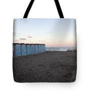 End Of Day - Mondello Beach Tote Bag