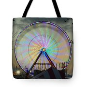 End Of Day With Design Tote Bag