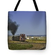 End Of Standard Gauge Tote Bag