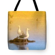 End Of The Day Tote Bag by Betty LaRue