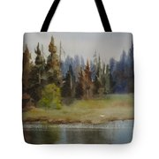End Of The Lagoon Tote Bag