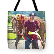 End Of The Race Tote Bag