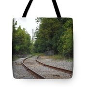 End Of The Rail Tote Bag