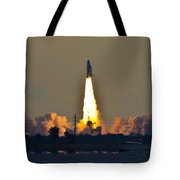 Endeavor Blast Off Tote Bag