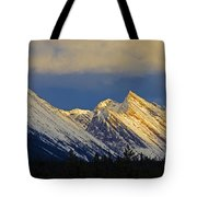 Endless Chain Ridge, Icefields Parkway Tote Bag