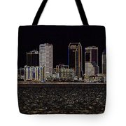 Energized Tampa - Digital Art Tote Bag