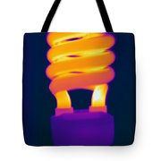 Energy Efficient Fluorescent Light Tote Bag