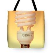 Energy Saving Light Bulb Tote Bag